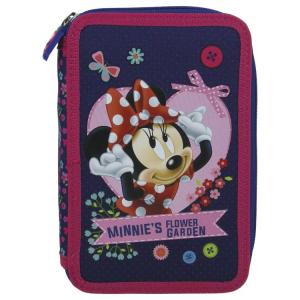Penar scoala, echipat, dublu(2 compartimente), Fete, Minnie Mouse0