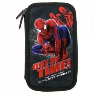 Penar scoala, echipat, dublu(2 compartimente), Baieti, Out of Time Spiderman0