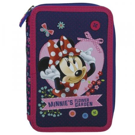 Penar scoala, echipat, dublu(2 compartimente), Fete, Minnie Mouse [0]