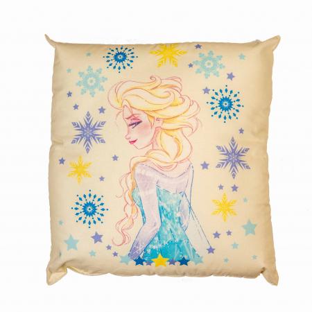 Perna decorativa Frozen Magia, 42x42 cm, crem1