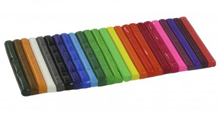 Plastelina 24 culori, Kidea [1]