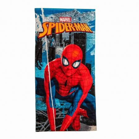 Prosop de baie sau plaja Spiderman, 70X 140CM0