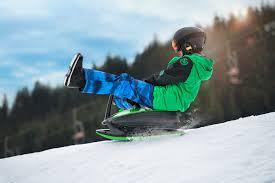 Sanie Copii Skidrifter  cu buton de program de stabilitate manuală blue  ice [2]