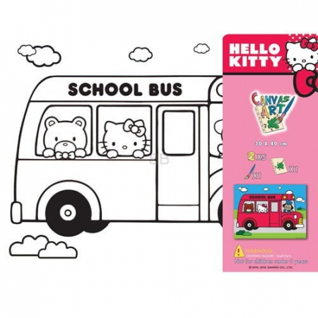 SET PICTURA CU TABLOU HELLO KITTY2