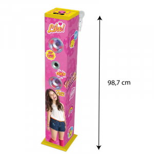 SISTEM AUDIO BLUETOOTH KARAOKE  SOY LUNA2