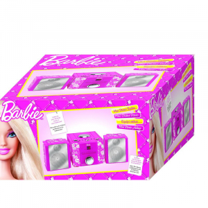 SISTEM STEREO HIFI CU CD MINI BARBIE STYLE1