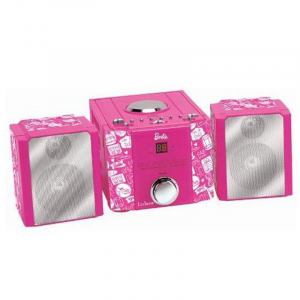 SISTEM STEREO HIFI CU CD MINI BARBIE STYLE0