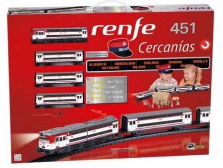 TRENULET ELECTRIC CERCANIAS RENFE 451 PEQUETREN2