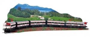 Trenulet electric de jucarie pentru copii, Renfe Cercanias PEQUETREN 6800