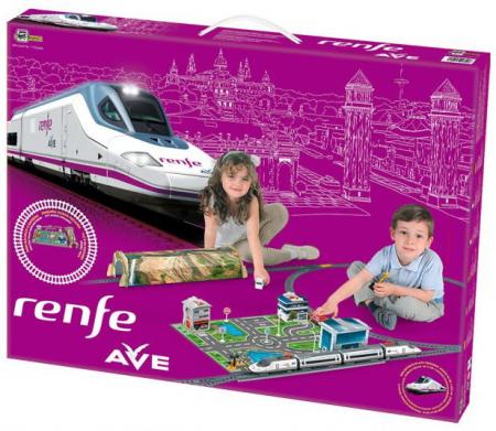 Trenulet electric de jucarie pentru copii, Renfe AVE PEQUETREN 7202