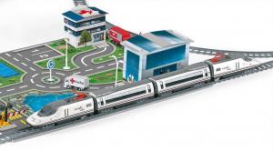 Trenulet electric de jucarie pentru copii, Renfe AVE PEQUETREN 7200