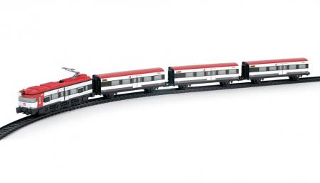 Trenulet electric de jucarie pentru copii, Renfe Cercanias PEQUETREN 675