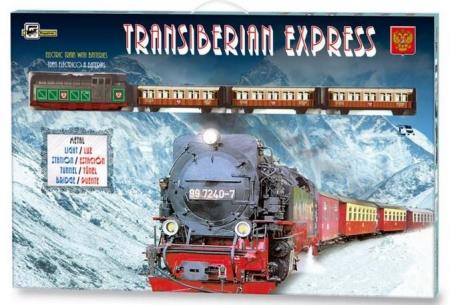 TRENULET ELECTRIC TRANS-SIBERIAN EXPRESS PEQUETREN1