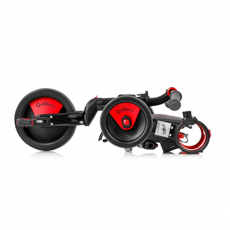 Tricicleta pliabila copii multifunctionala 4 in 1, Negru/Rosu, Toimsa Galileo, 10-36 luni5