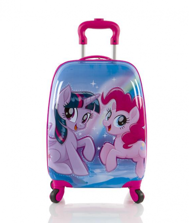 Troler calatorie ABS Copii - Fete, Heys, My Little Pony, Roz, 46 cm1