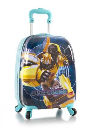 Troler calatorie ABS Copii - Baieti, Heys Transformers, Albastru/Turcoaz, 46 cm0