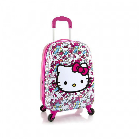 Troler ABS Copii, Heys, Hello Kitty, Roz, 51 cm0