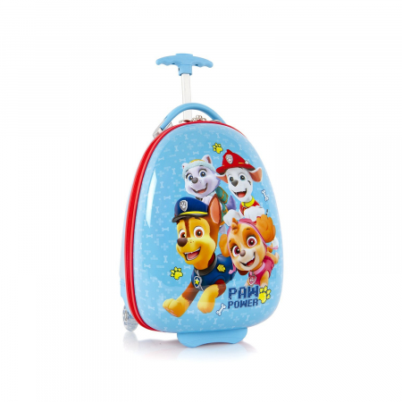Troler copii calatorie ABS, Heys, Paw Patrol, Blue, 46 cm0