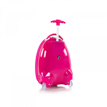 Troler copii calatorie ABS, Fete, Heys, Hello Kitty, Roz, 46 cm3