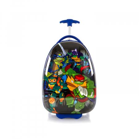 Troler copii calatorie ABS, Heys, Testoasele Ninja, Albastru, 46 cm1