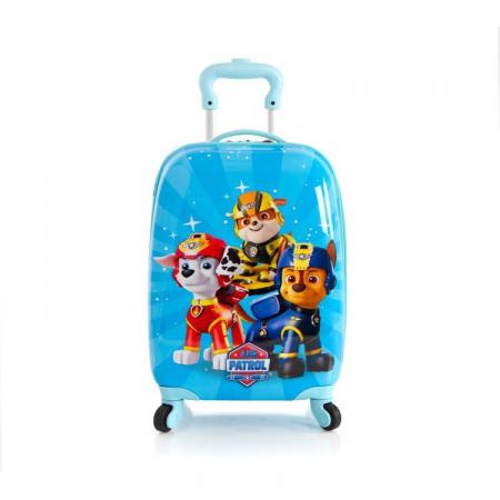Troler ABS Copii, Heys, Nickelodeon, Paw Patrol, Albastru, 46 cm0