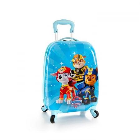 Troler ABS Copii, Heys, Nickelodeon, Paw Patrol, Albastru, 46 cm