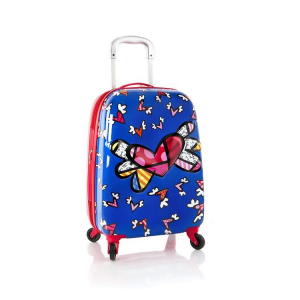 Troler copii calatorie ABS, Flying Hearts, 51 cm, Heys0