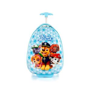 Troler copii de vacanta ABS, Nickelodeon Paw Patrol, Albastru, 46 cm