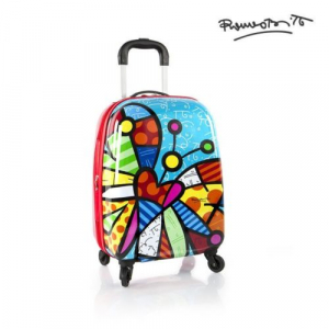Troler copii calatorie ABS, Butterfly, 51 cm, Heys
