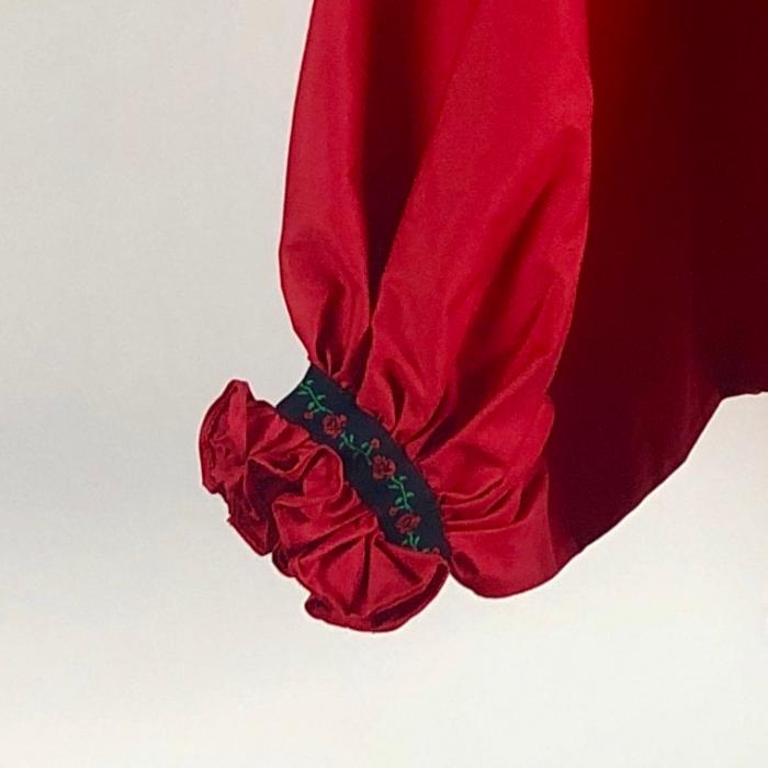 """Atelier Merci - Bluză """"Înțelepciunea este adevăr"""", culoare roșu 1"""