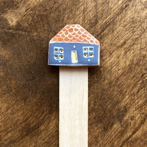 Semn de carte Little Houses model 9 1
