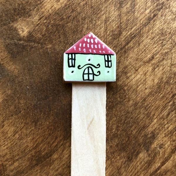 Semn de carte Little Houses model 10 0