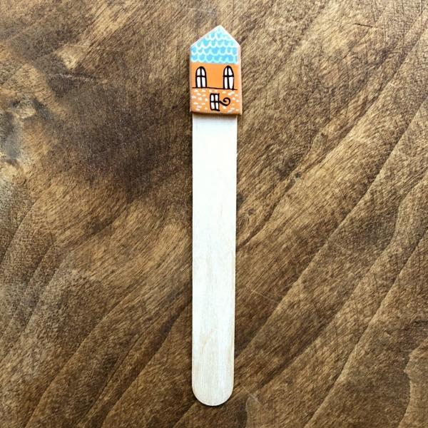 Semn de carte Little Houses model 7 1