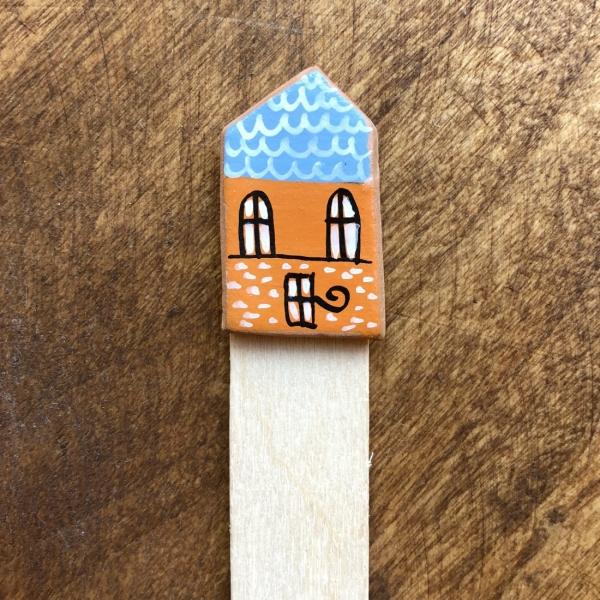 Semn de carte Little Houses model 7 0