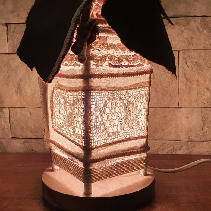 c u l c u ș - Căsuță lampă model 2 [3]