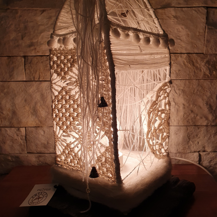c u l c u ș - Căsuță lampă model 1 10