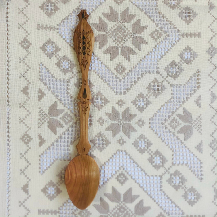 Lingura lemn cireş - Peștele 3