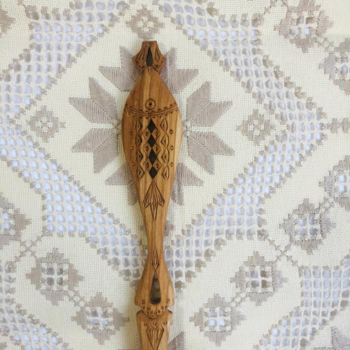 Lingura lemn cireş - Peștele 2