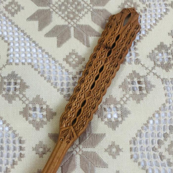 Lingura lemn cireş - Apa vie [1]