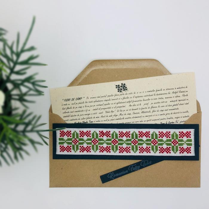 Semn în cartea ta clasic - Flori de câmp - model 1 0