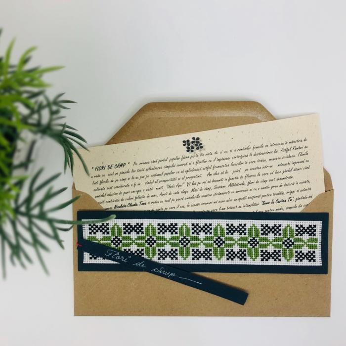 Semn în cartea ta clasic - Flori de câmp - model 2 0