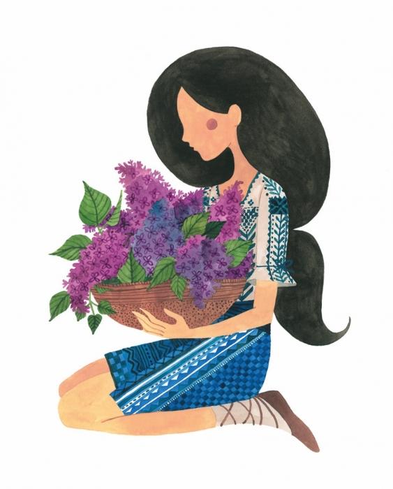 Felicitare - Liliac 1