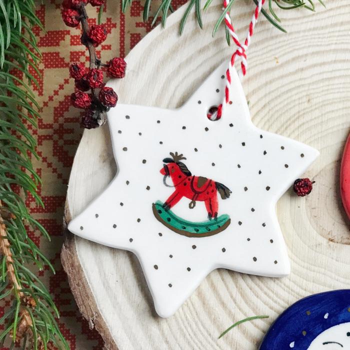 Gruni - ornament brad steluță 0