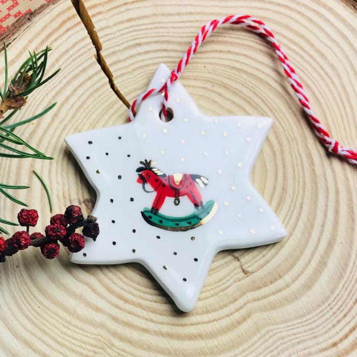 Gruni - ornament brad steluță 2