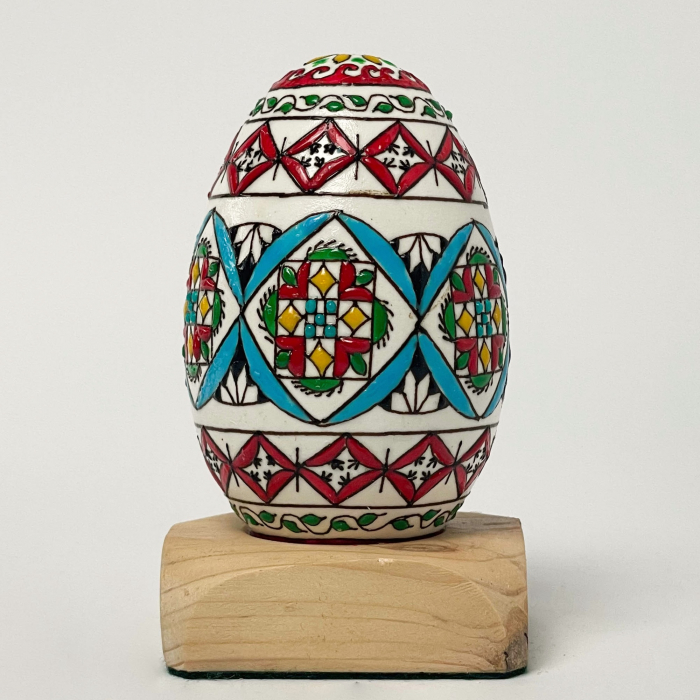 Ou de gâscă încondeiat model 13 0