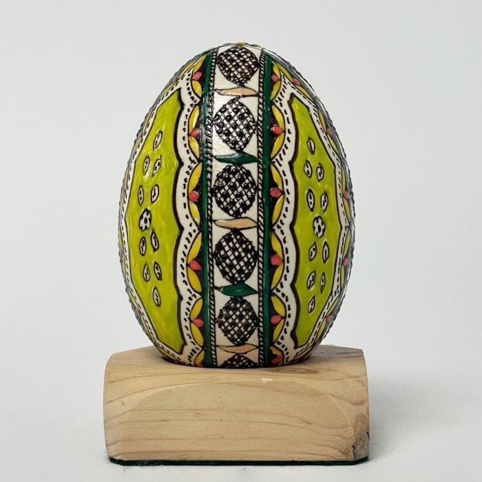 Ou de gâscă încondeiat model 15 1