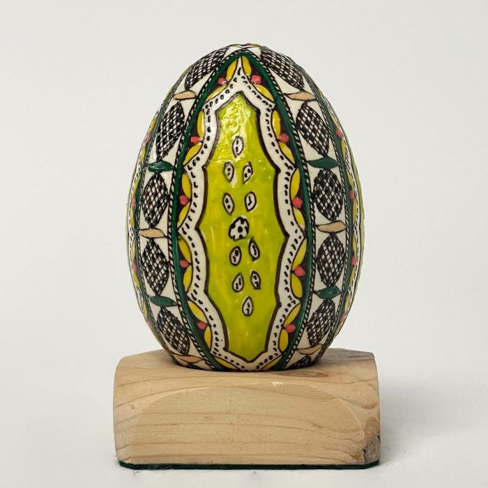 Ou de gâscă încondeiat model 15 0