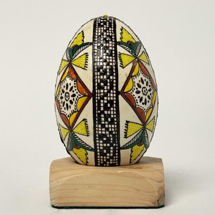 Ou de gâscă încondeiat model 16 [1]