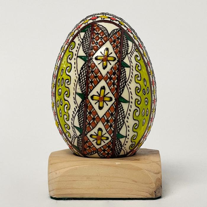 Ou de gâscă încondeiat model 17 0