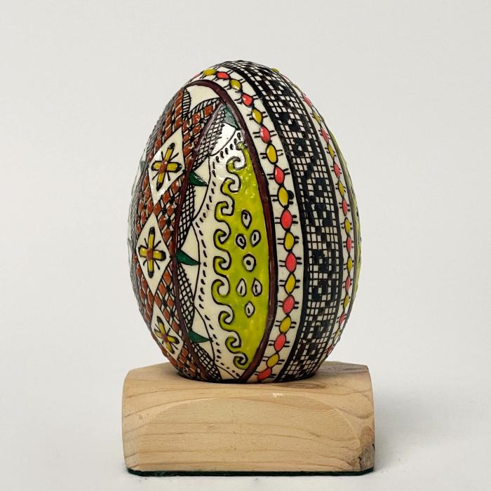 Ou de gâscă încondeiat model 17 2